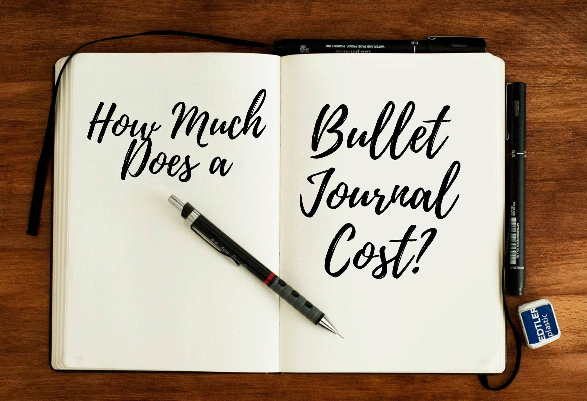 how-much-does-a-bullet-journal-cost