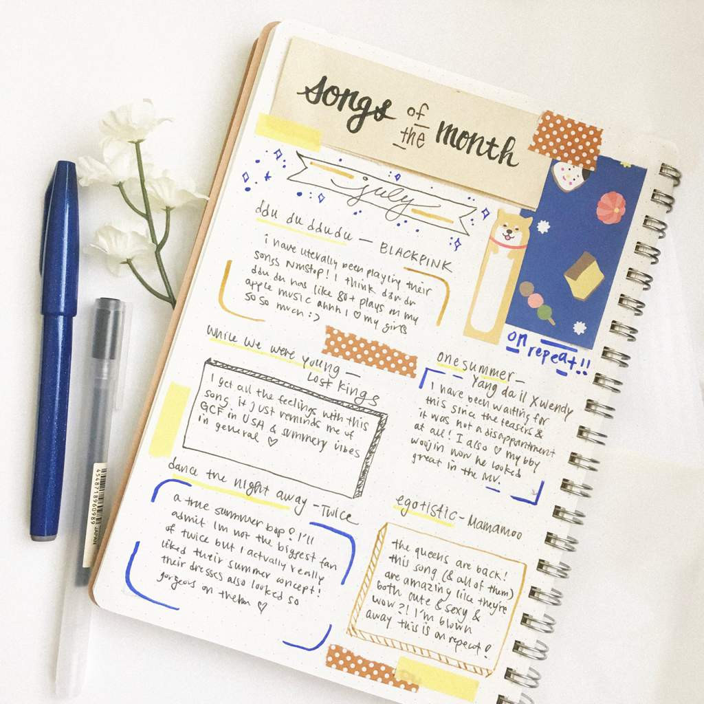 How To Fix Bullet Journal Mistakes With Textured Paper