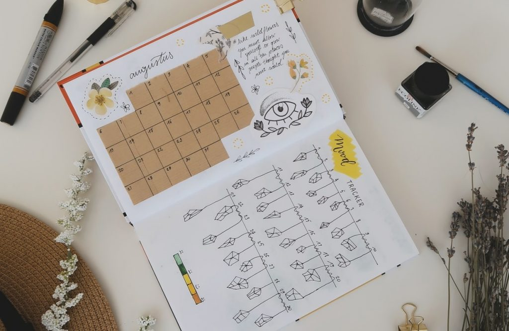 Ways a bullet journal is useful