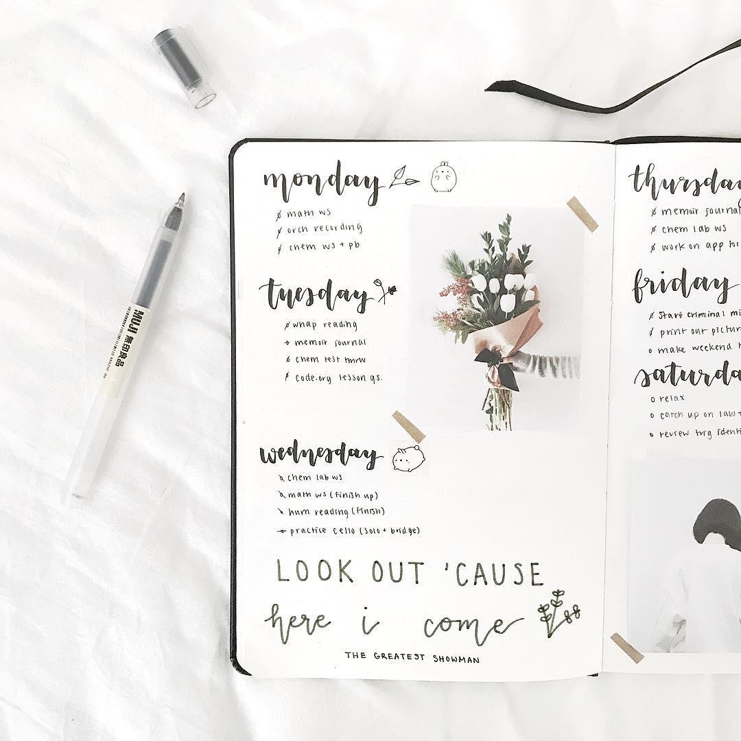 get better at bullet journaling tips