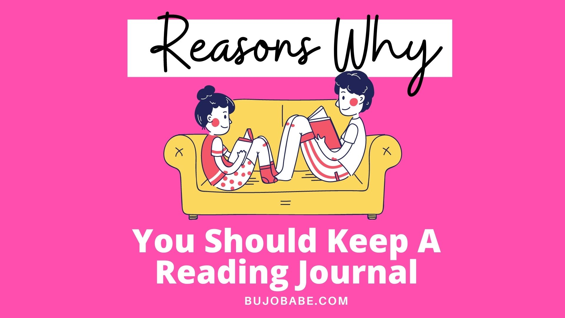 reasons why you should start a reading journal