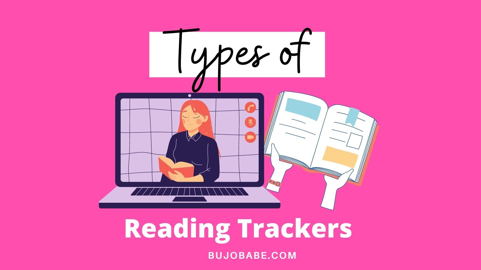 types of reading trackers