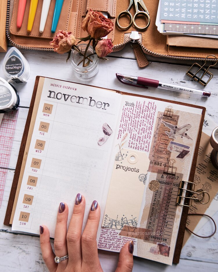 ways to bullet journal when you're not artistic