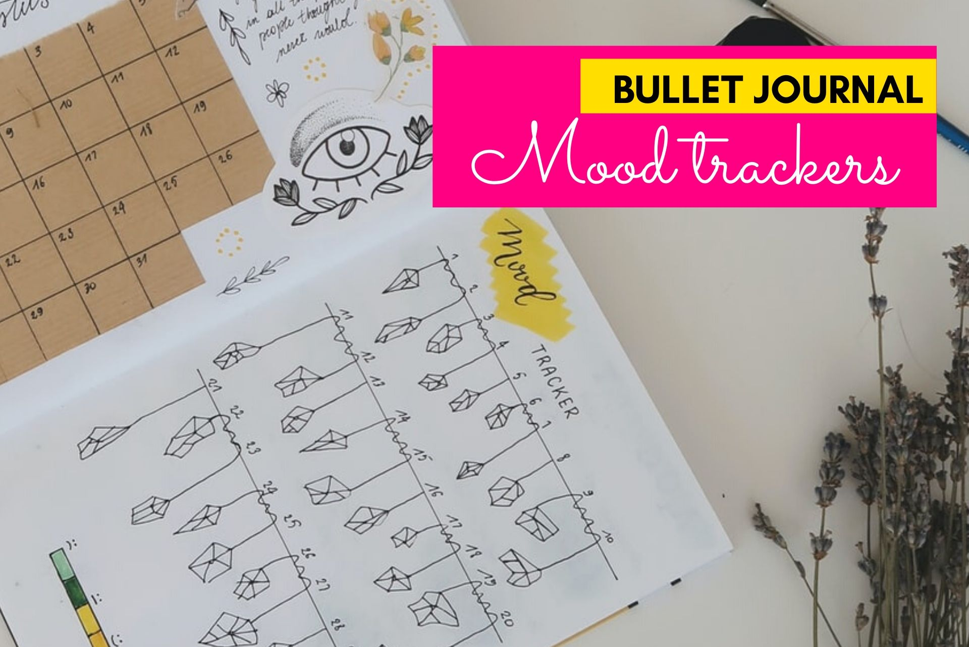 bullet journal mood trackers, mood tracker spreads, bujo mood tracker, mood trackers, bullet journal spreads