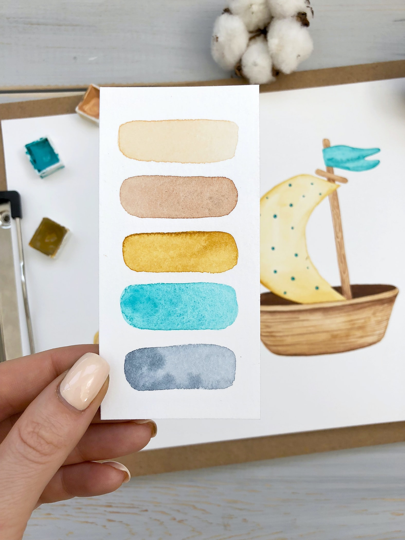 difference between gouache and watercolors