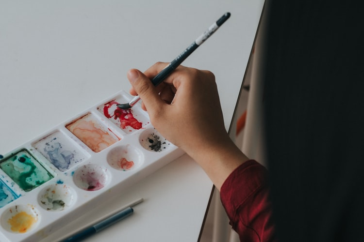 painting with gouache, gouache tips for beginners