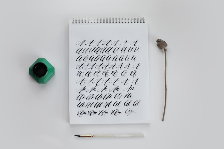 how to teach yourself calligrahy fast