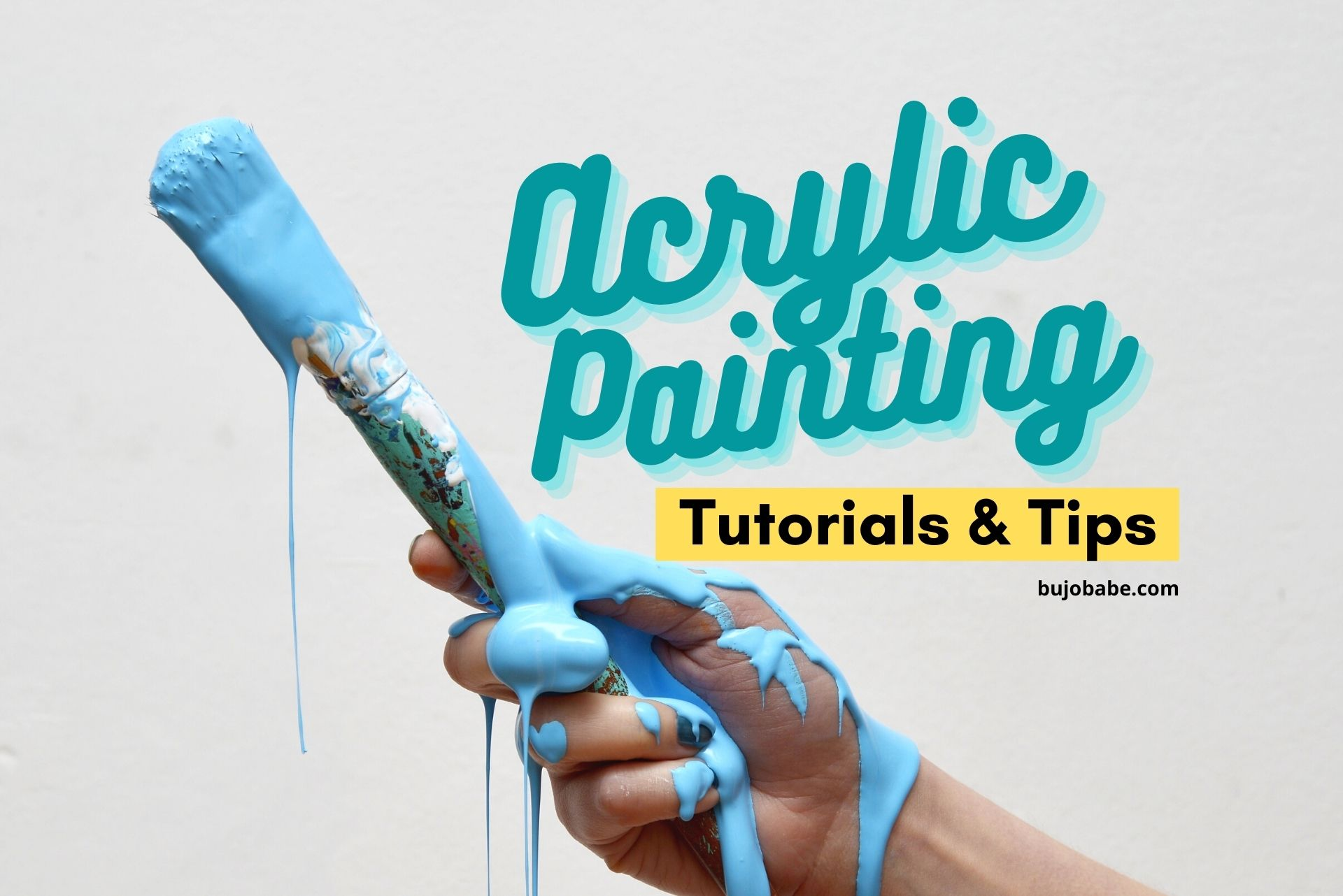 acrylic painting tutorials and tips for beginners