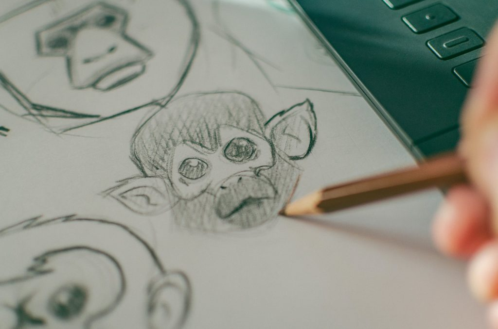how to learn to draw warm up sketches