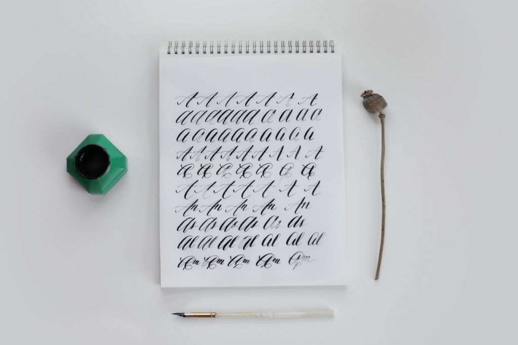calligraphy mistakes for beginners