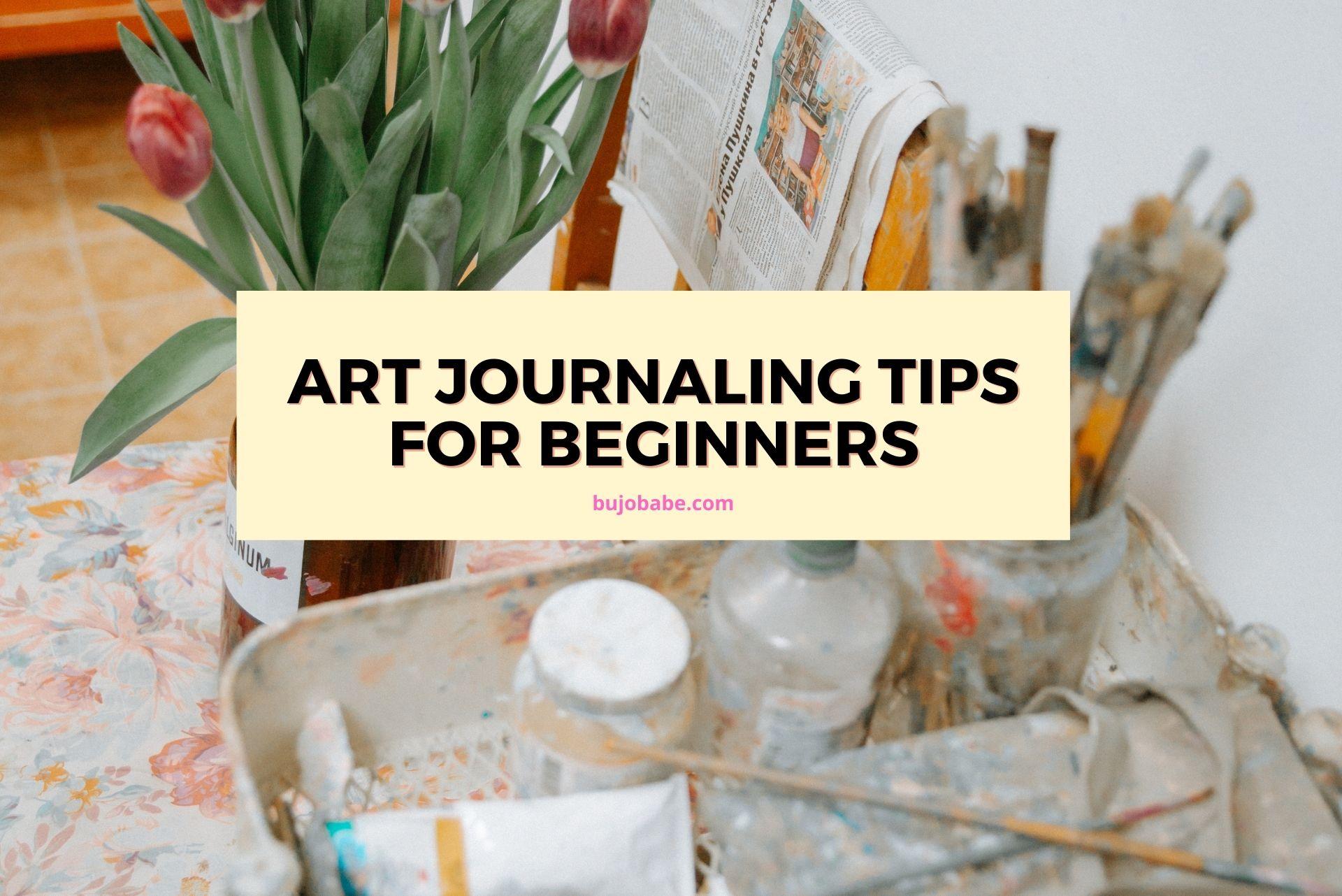 art journaling tips for beginners