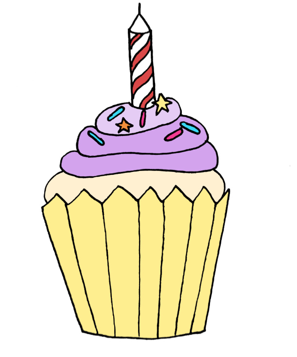 how to draw a cupcake step 11