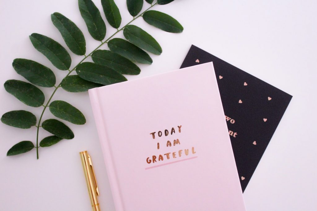 gratitude journaling before bed
