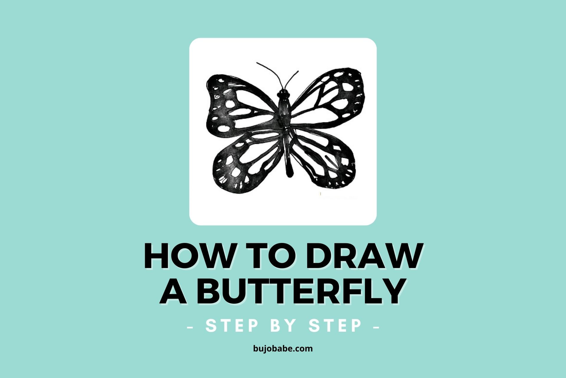 how to draw a butterfly, butterfly drawing, easy step by step tutorial
