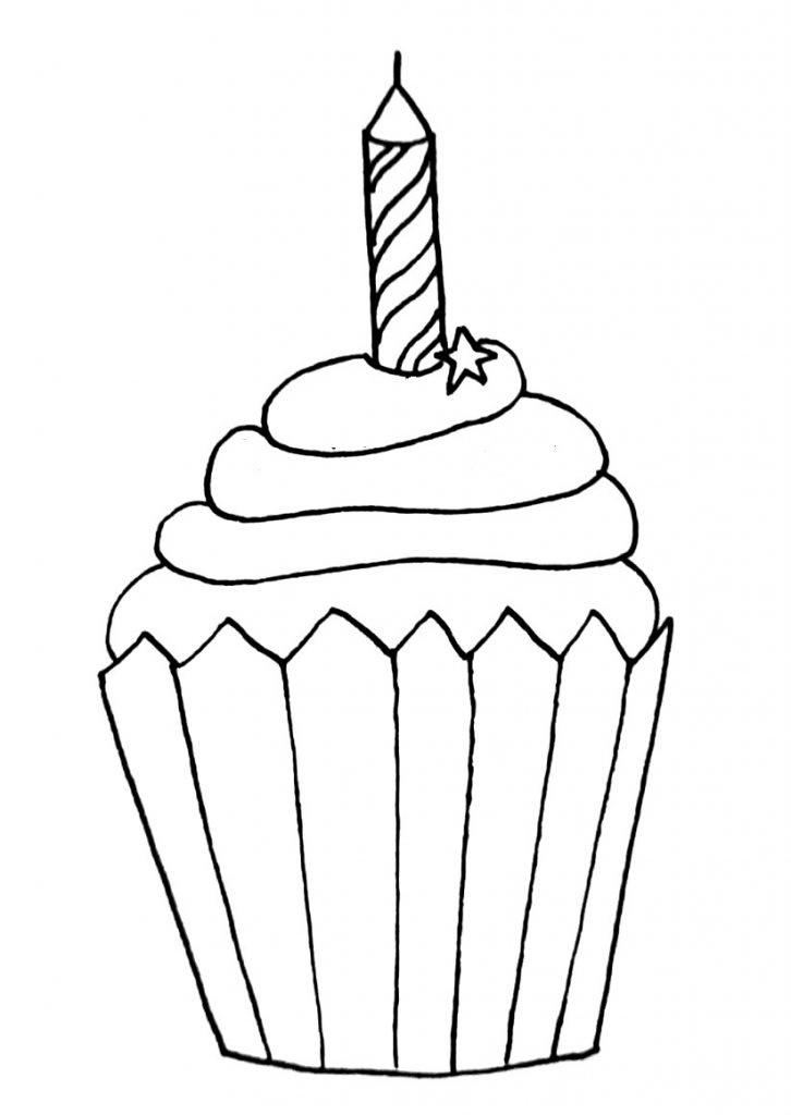 how to draw a cupcake step 10