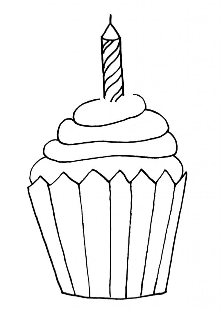 how to draw a cupcake step 9