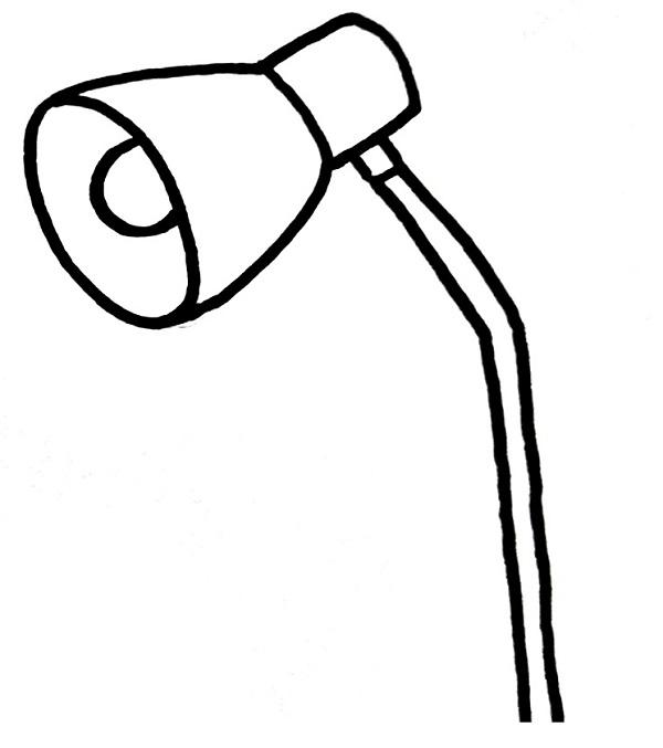 Lamp Drawing Step 3
