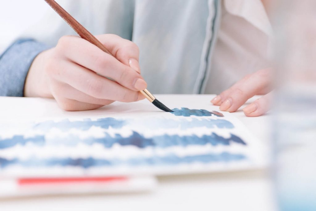 Learn To Paint In One Color