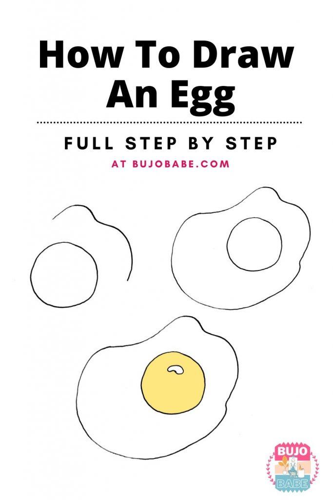 egg drawing tutorial