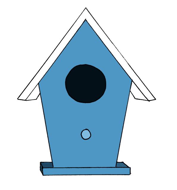 Birdhouse Drawing