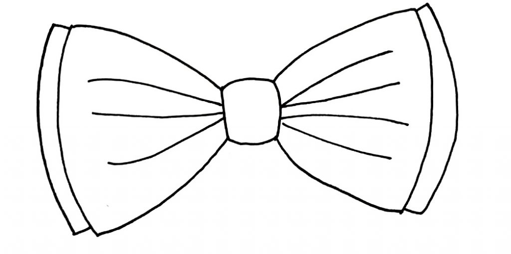 How To Draw A Bow Step 7