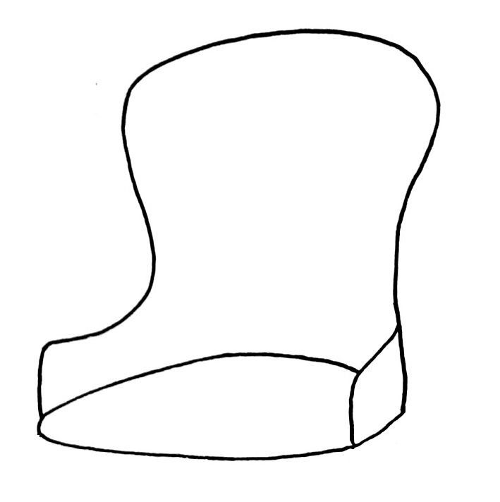How to draw a chair step 5
