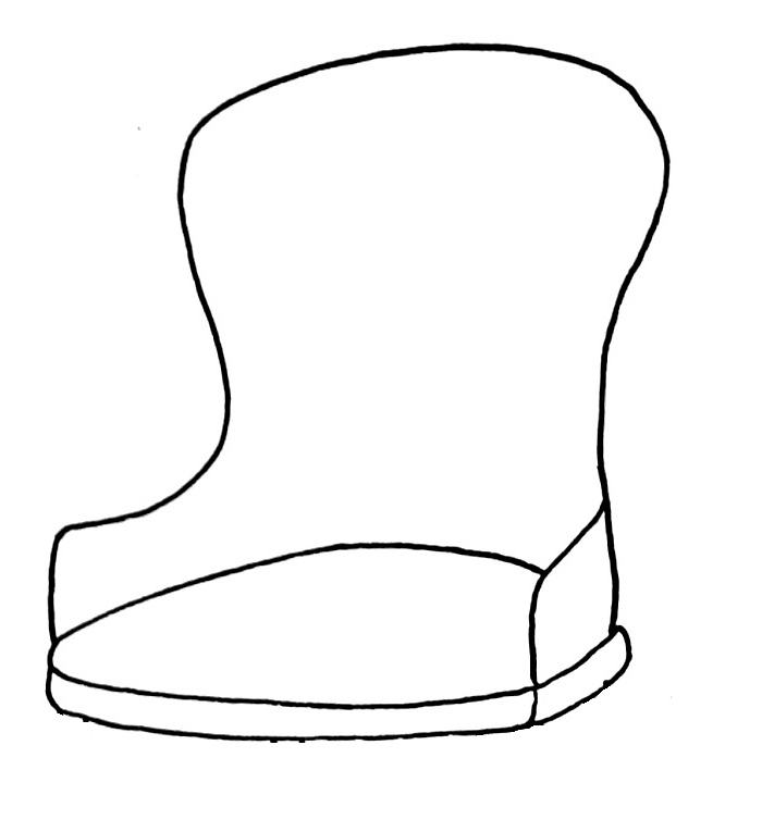 How to draw a chair step 6