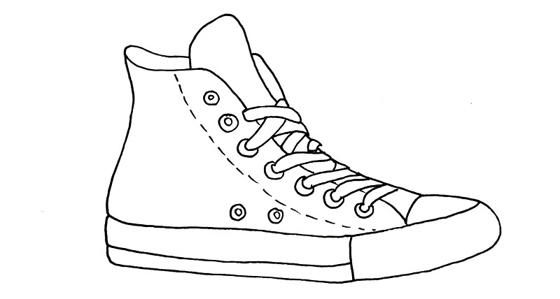 how to draw a shoe step 10