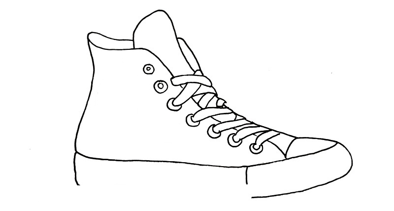 how to draw a shoe step 7
