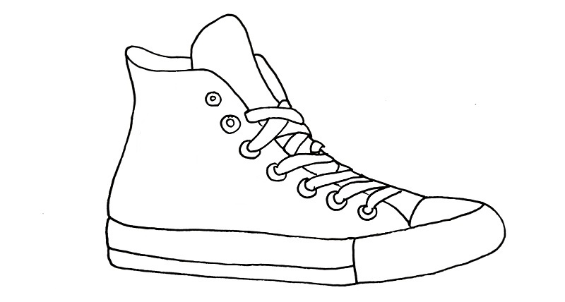 how to draw a shoe step 9