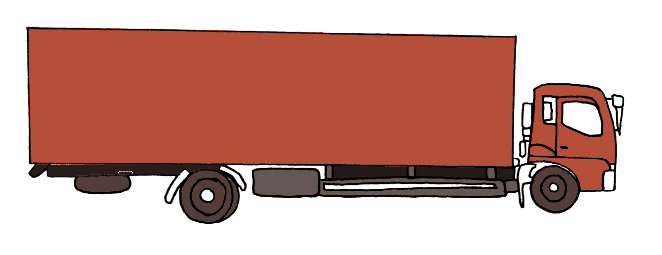How to draw a truck step 9