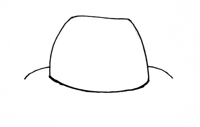 How To Draw A Hat Step 3