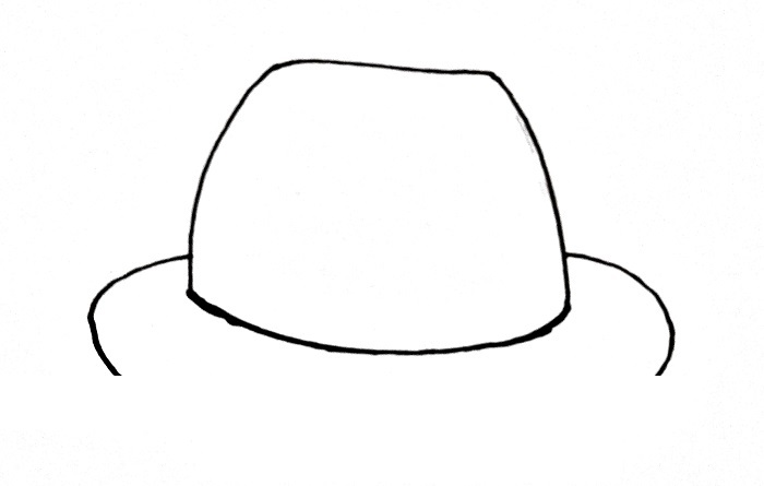 How To Draw A Hat Step 4