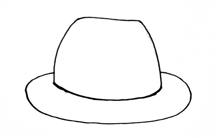 How To Draw A Hat Step 5