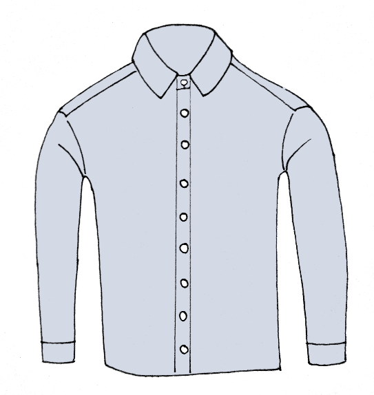How To Draw A Shirt Step 9