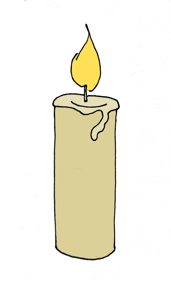 How To Draw A Candle Step 6