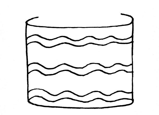 How To Draw A Birthday Cake Step 3
