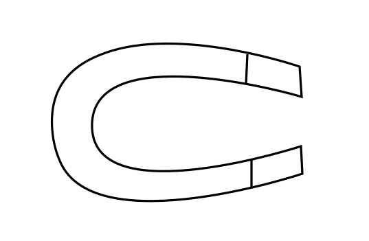 How To Draw A Magnet Step 4