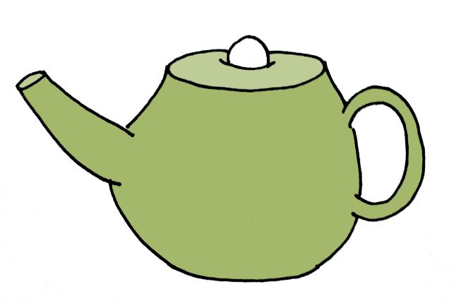 How To Draw A Tea Pot Step 7