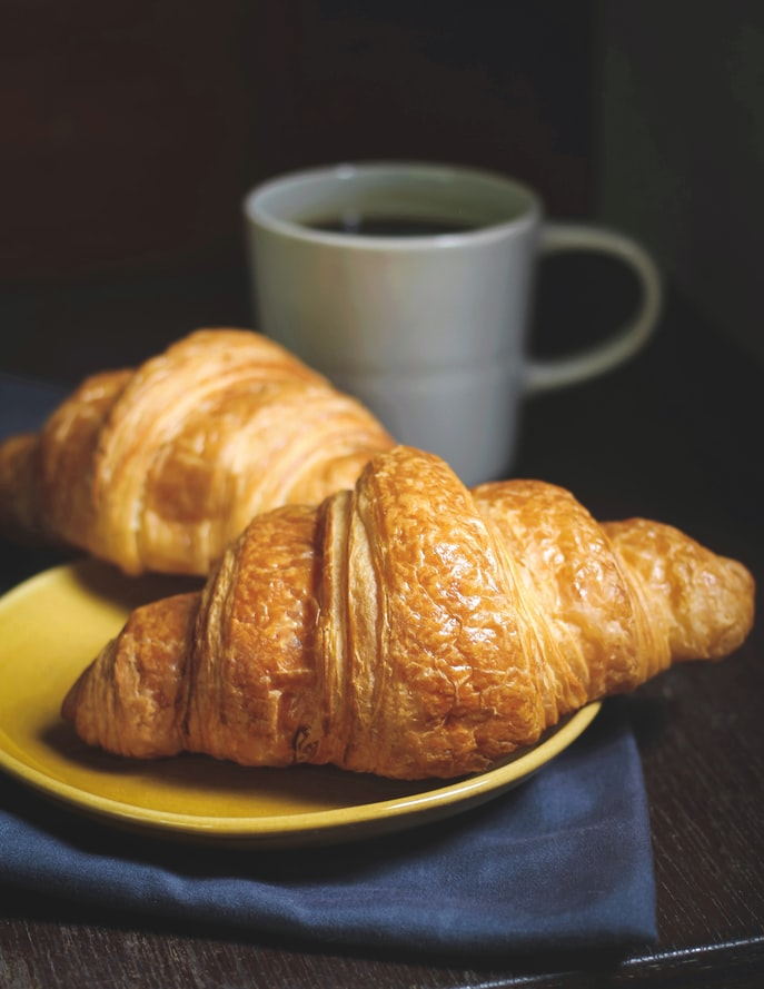 Croissant Drawing Reference