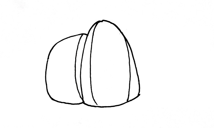 How To Draw A Croissant Step 3
